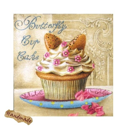Tablou Butterfly Cup Cake