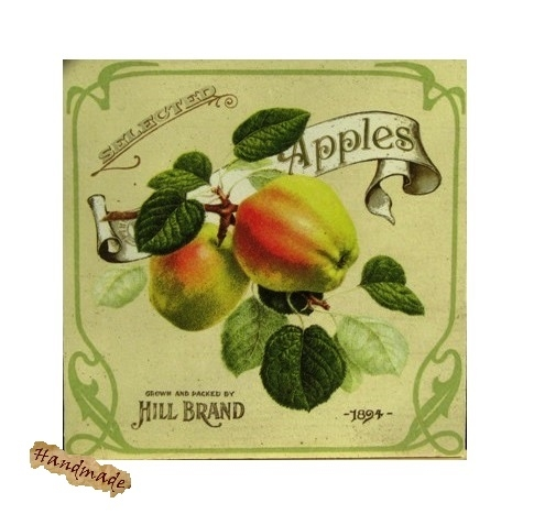 Tablou Reclama Retro Apples